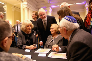 Camilla Parker Bowles Holocaust Memorial Day Ceremony