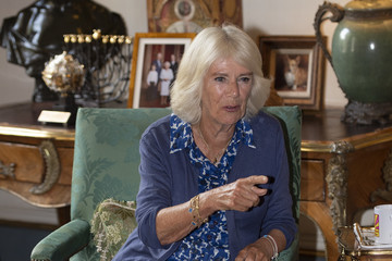 """Camilla Parker Bowles The Duchess Of Cornwall Supports The Prince's Trust's """"Brilliant Breakfast"""" Initiative"""