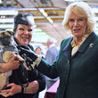 Camilla Parker Bowles Prince Of Wales And Duchess Of Cornwall Visit Leicestershire