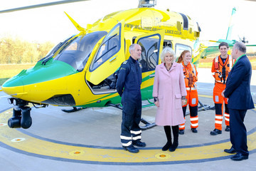 Camilla Parker Bowles The Duchess Of Cornwall Visits Wiltshire