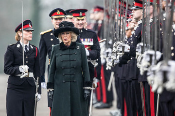 Camilla Parker Bowles The Duchess Of Cornwall Attends The Sovereign's Parade