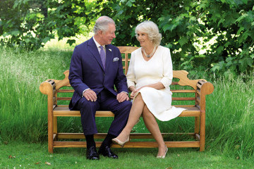 Camilla Parker Bowles The British Royal Family Release Their Christmas Cards