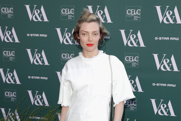 Camilla Rutherford Fashioned From Nature VIP Preview At V&A Museum - Red Carpet Arrivals