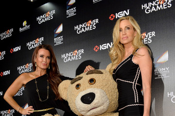 """Camille Grammer Kyle Richards """"The Hungover Games"""" Cast & Crew Screening"""