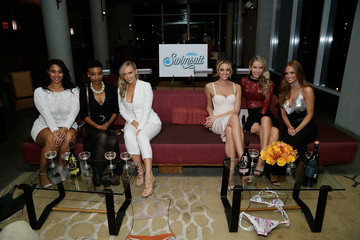 Camille Kostek SI Swimsuit 2018 Model Search Celebration and Preview of the Sports Illustrated Swim and Active Collection at Mr. Purple in Hotel Indigo LES