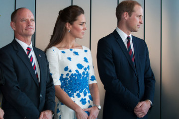 Campbell Newman The Duke And Duchess Of Cambridge Tour Australia And New Zealand - Day 13