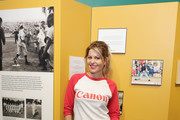 Actress Candace Cameron Bure poses for a photo in the Richard 'Hank' Bauer, Jr. Little League Photography Exhibit at the Little League World Series on August 21, 2016 in South Williamsport, Pennsylvania.