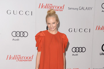 Candice Accola Arrivals at the Women In Entertainment Breakfast