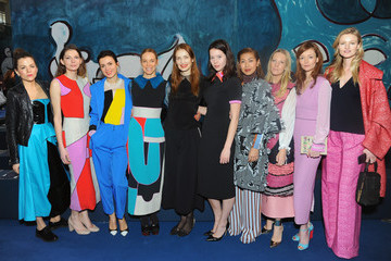 Candice Lake Alice Naylor-Leyland Front Row & Celebrities: Day 4 - LFW AW16