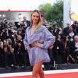 """Candice Swanepoel """"The Perfect Candidate"""" Red Carpet Arrivals - The 76th Venice Film Festival"""
