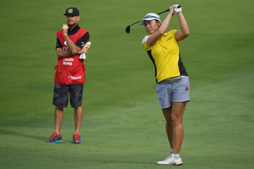 Candie Kung HSBC Women's Champions - Day One