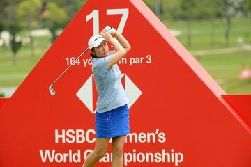 Candie Kung HSBC Women's World Championship - Day Two