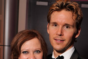 "Caroline Manzo from the ""Real Housewives of New Jersey"" poses with Ryan Kwanten as they attend the Capitol File's 7th Annual White House Correspondents' Association Dinner after party at The Newseum on April 28, 2012 in Washington, DC."