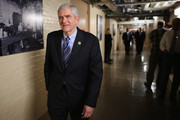 Rep. Daniel Webster (R-FL) heads for a House Republican caucus meeting in the basement of the U.S. Capitol October 9, 2015 in Washington, DC. Supported by the conservative Freedom Caucus, Webster is a candidate to succeed Speaker of the House John Boehner (R-OH) whose plans to retire at the end of October have been thrown into question after Majority Leader Kevin McCarthy (R-CA) announced Thursday he was pulling out of the race for Speaker.