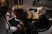 In this handout image provided by Disney ABC Television Group, ABC News' Ashleigh Banfield talks to Capri Anderson, the woman who was found in actor Charlie Sheen's hotel room the morning of his arrest last month, who is speaking out for the first time on network television on Monday November 22, 2010 on ABC News. The interview airs on  Nightline (11:35pm, ET) on the ABC Television Network.