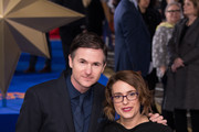 "(L-R) Writers and directors Ryan Fleck and Anna Boden attend the ""Captain Marvel European Gala"" held at The Curzon Mayfair on February 27, 2019 in London, England."