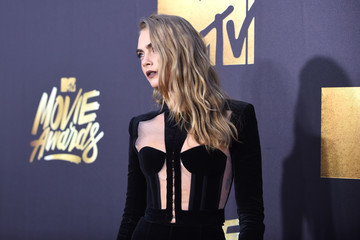 Cara Delevingne 2016 MTV Movie Awards - Red Carpet