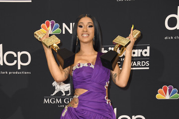 Cardi B 2019 Billboard Music Awards - Press Room