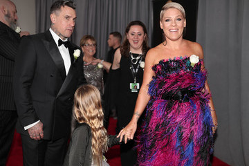 Carey Hart 60th Annual GRAMMY Awards - Red Carpet
