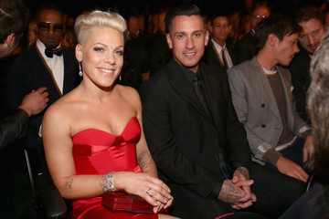 Carey Hart Inside the 56th Annual Grammy Awards — Part 2