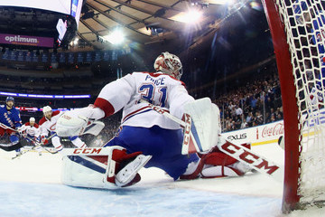 Carey Price Montreal Canadiens v New York Rangers - Game Four