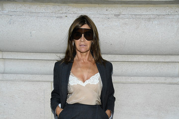 Carine Roitfeld Paco Rabanne : Arrivals - Paris Fashion Week Womenswear Spring/Summer 2019