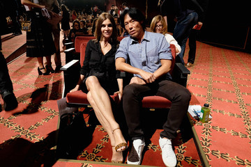 Carine Roitfeld Marc Jacobs - Front Row - Spring 2016 New York Fashion Week