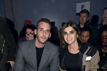 Carine Roitfeld Philipp Plein - Front Row - February 2018 - New York Fashion Week: The Shows