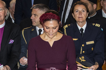 Carl XVI Gustaf of Sweden Swedish Royals Attend The Opening Of The Church Meeting In Uppsala