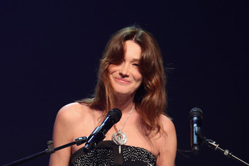 Carla Bruni-Sarkozy Cinema Against AIDS Gala Show