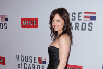 "Carla Gugino Netflix's ""House Of Cards"" New York Premiere - Arrivals"