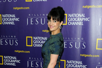 """Carla Gugino Red Carpet Event And World Premiere Of National Geographic Channel's """"Killing Jesus"""""""