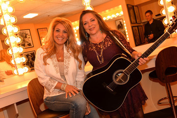 Carlene Carter Musicians Perform at the Johnny Cash Stamp Launch