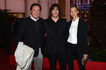 Carles Puyol Vanessa Lorenzo Welcome Party - Laureus World Sports Awards - Shanghai 2015