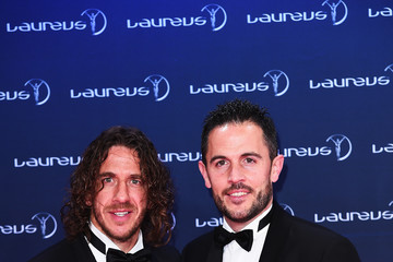 Carles Puyol Winners Press Conference and Photocalls - 2017 Laureus World Sports Awards - Monaco