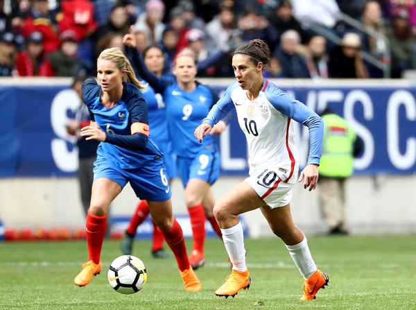 new style 50e68 1d580 Carli Lloyd Photos - 2018 SheBelieves Cup - United States vs ...
