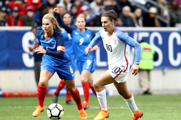 Carli Lloyd 2018 SheBelieves Cup - United States vs. France