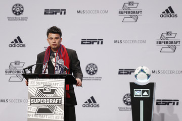 Carlos Alvarez 2013 MLS SuperDraft Presented By Adidas