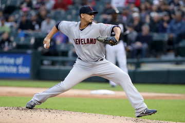 Carlos Carrasco Cleveland Indians  v Chicago White Sox