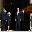 Carlos Lesmes King Felipe Of Spain Attends 40th Anniversary Of 23-F