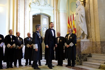 Carlos Lesmes Serrano King Felipe VI of Spain Atends the Opening of The Legal Year in Spain