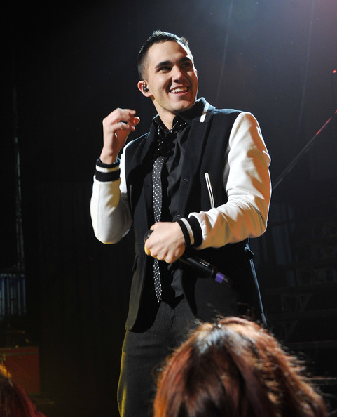 Carlos Pena Jr. Singer Carlos Pena Jr. of Big Time Rush performs at Radio City Music Hall on March 9, 2012 in New York City.