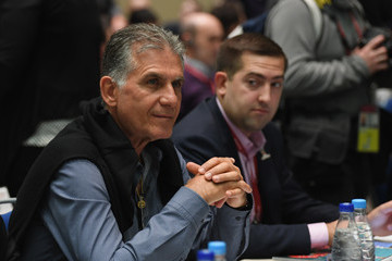 Carlos Queiroz Final Draw for the 2018 FIFA World Cup Russia - Previews