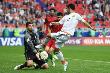 Carlos Vela Portugal v Mexico: Play-Off for Third Place - FIFA Confederations Cup Russia 2017