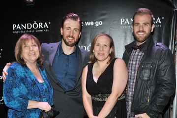 "Carly Evans PANDORA Jewelry Presents ""Before We Go"" Cocktail Reception With Chris Evans"