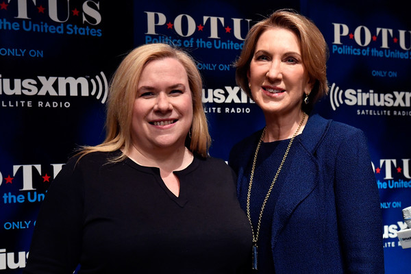 Carly Fiorina Talks With Host Julie Mason For SiriusXM's 'Leading Ladies' Series