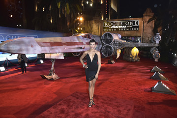 Carly Hughes The World Premiere of 'Rogue One: A Star Wars Story'