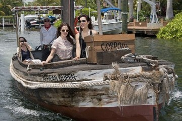 Carly Pope Olivia Thirlby And Carly Pope Ride The Original African Queen