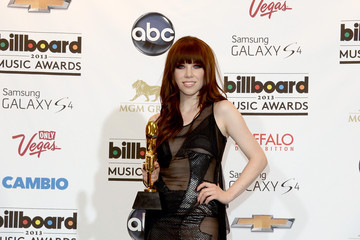 Carly Rae Jepsen Press Room at the Billboard Music Awards