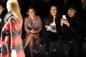 Carmen Carrera Desigual - Front Row - Fall 2016 New York Fashion Week: The Shows